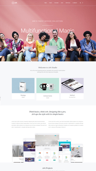 The Ark – Best Rated Multi-Purpose WordPress Theme